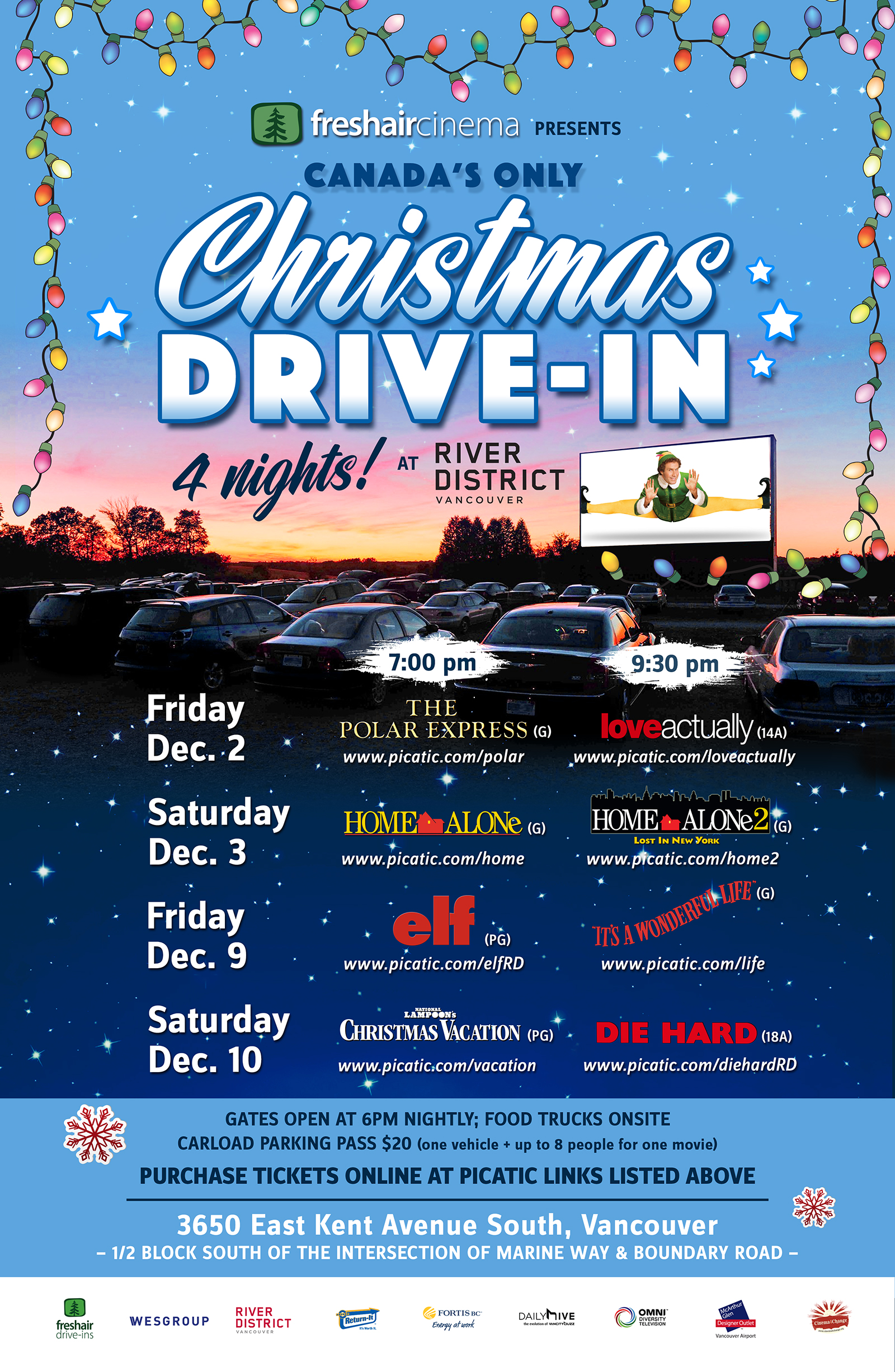 Fresh Air Christmas Drivein